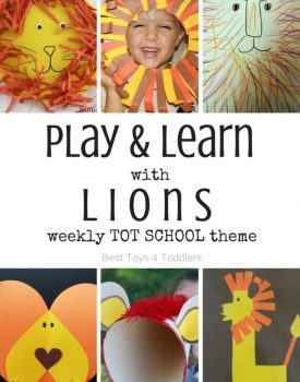 Lion Theme for Tot School
