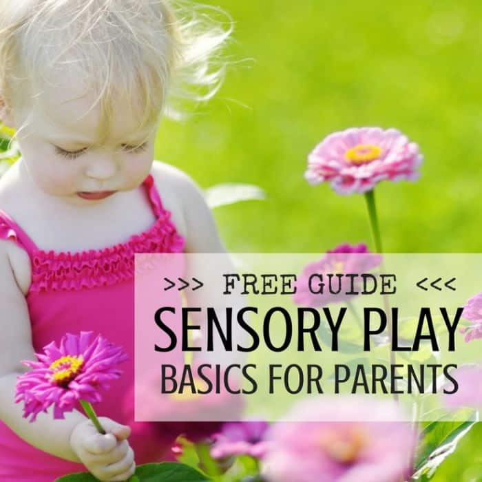 Best Toys 4 Toddlers - Free downloadable book to help start with sensory play