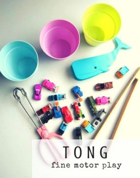 Tong Fine Motor Play