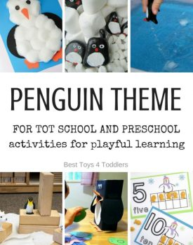 Penguin Theme for Tot School