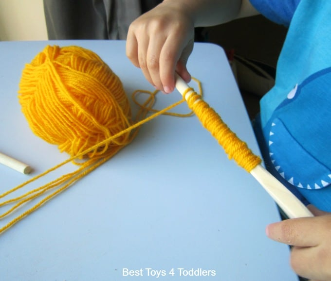 wrapping-yarn