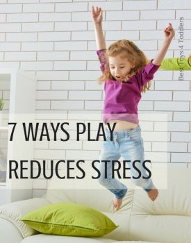Importance of play - 7 ways play reduces stress at toddlers and older kids