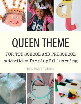 Queen Theme for Tot School