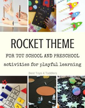 Rocket Theme for Tot School