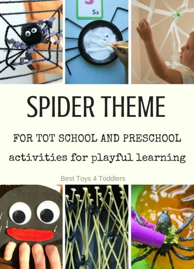 Best Toys 4 Toddlers - 7 days of play based activities for Tot school and preschool with free printable planner