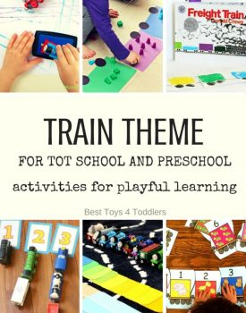 Train Theme for Tot School and Preschool
