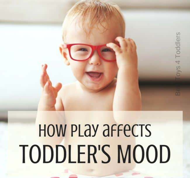 Play can help reduce stress, overcome fear, and even makes kids happier. As a parent, you can help your child by simply allowing her to play. Let's take a closer look at how the play affects a toddler's mood.