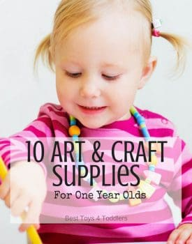Art and craft supplies for one year-olds