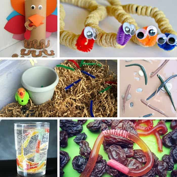 Best Toys 4 Toddlers - Letter W activities with worm theme for toddlers and preschoolers