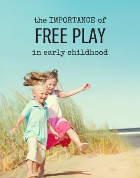 Best Toys 4 Toddlers - The Importance of Free Play in Early Childhood in a Fast and Structurd World