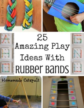 25 Amazing Play Ideas With Rubber Bands