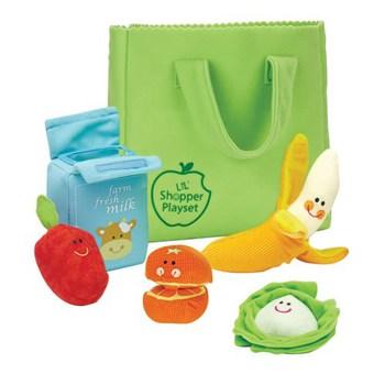 Top 10 Pretend Play Toys For One Year Olds: Little Shopping Bag Set