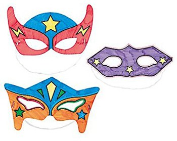 Top 10 Art & Craft Supplies For 4 Year Olds: Super Hero Mask Kit