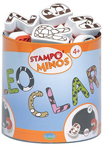 Top 10 Art & Craft Supplies For 4 Year Olds: Foam Letter Stamps