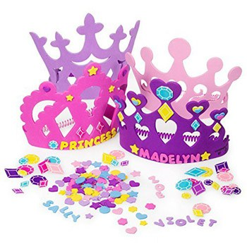 Best Art and Craft Supplies For A 3 Year Old - Princess Tiara Crown Craft Kits