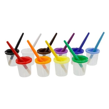 Best Art and Craft Supplies For 3 Year Olds - Children's No Spill Paint Cups