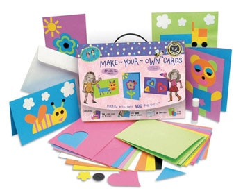 Top 10 Art & Craft Supplies For 4 Year Olds: Greeting Card Making Kit