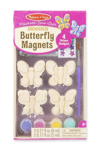 Best Art and Craft Supplies For 3 Year Old - Decorate Your Own Wooden Magnet