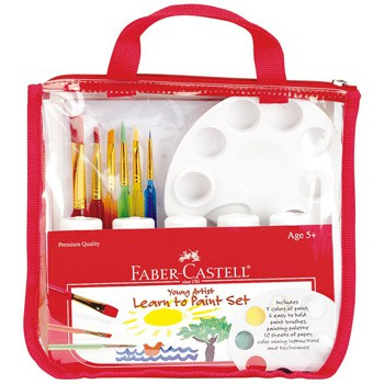 Best Art & Craft Supplies For 3 Year Olds - Young Artist Learn To Paint Set