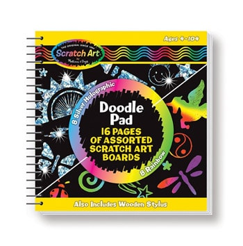 Top 10 Art & Craft Supplies For 4 Year Olds: Scratch Doodle Pad