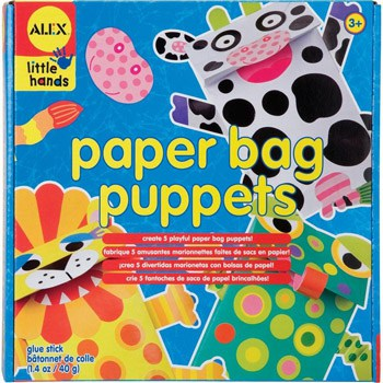 Top 10 Art & Craft Supplies For 4 Year Olds: Paper Bag Puppets