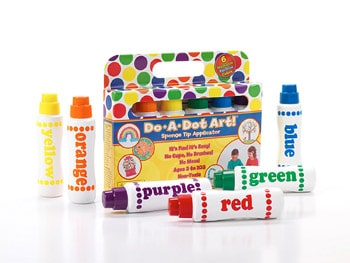 Best Art and Craft Supplies For 3 Year Olds - Do A Dot Art! Markers
