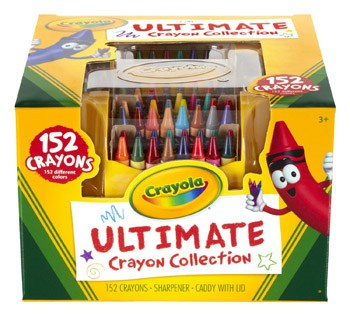Best Art and Craft Supplies For 3 Year Olds - Ultimate Crayon Collection