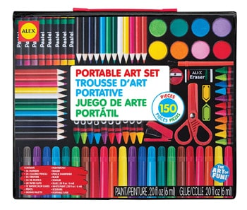 Best Art and Craft Supplies For 3 Year Olds: Artist Studio Portable Art Set