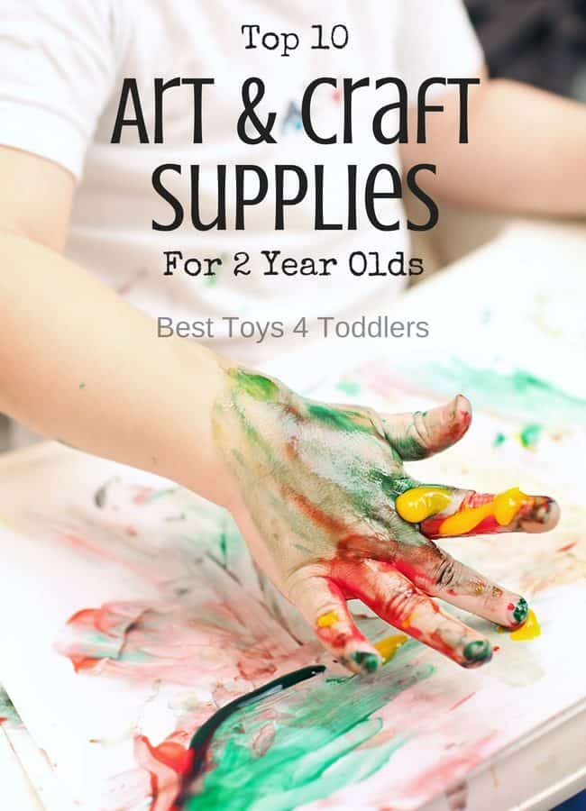 Top 10 Art & Craft Supplies For 2 Year Olds