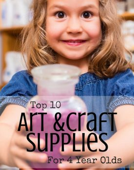 Top 10 Art and Craft Supplies For 4 Year Olds
