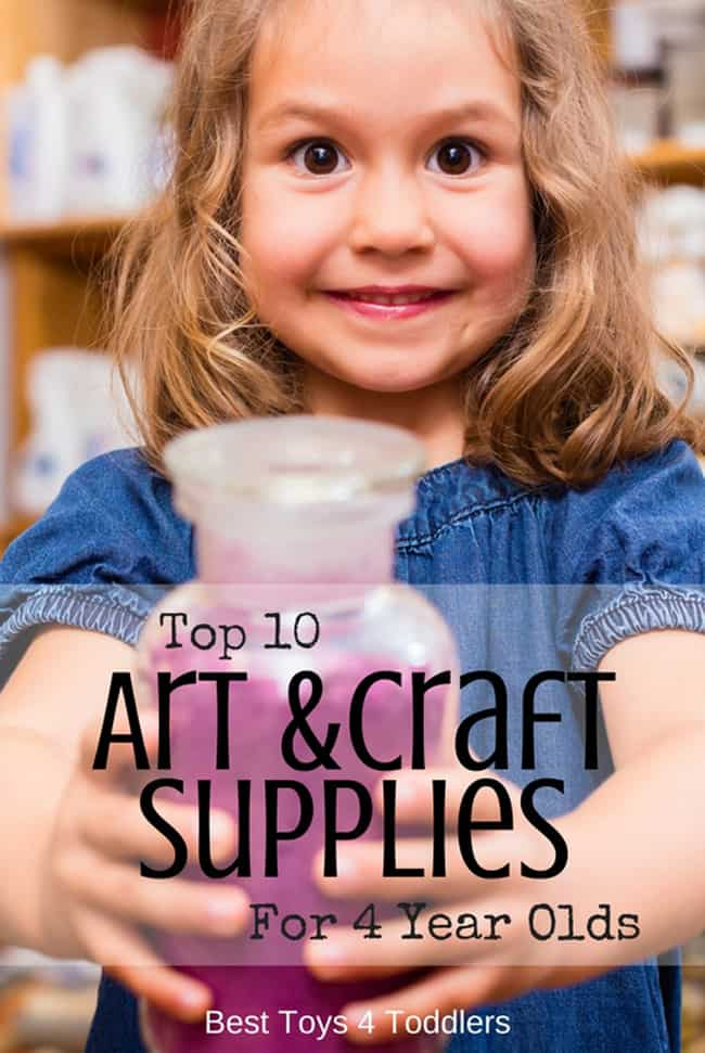 Top 10 art and craft materials for 4 year-olds