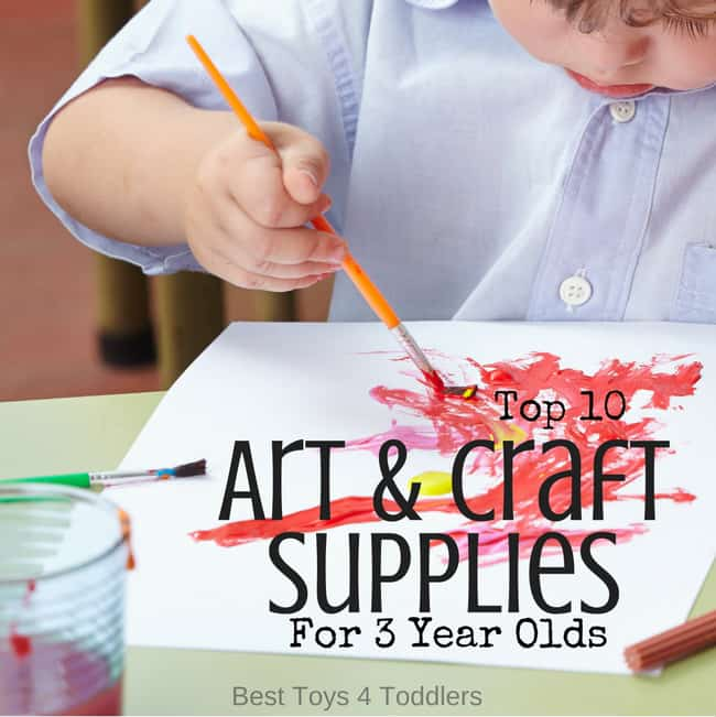 top 10 art and craft supplies for 3 year olds