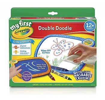10 Awesome Art & Craft Supplies For One Year Olds - Double Doodle