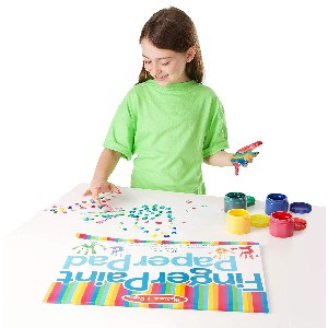Must have in every child's playroom - Finger-Paint Paper Pad