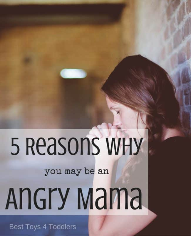 five reasons to consider when managing anger in motherhood