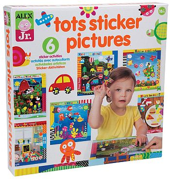 10 Awesome Art & Craft Supplies For One Year Olds - Tots Sticker Pictures
