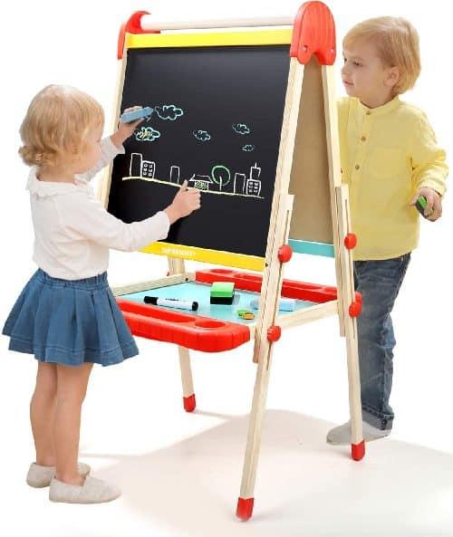 Wooden Art Easel for Kids