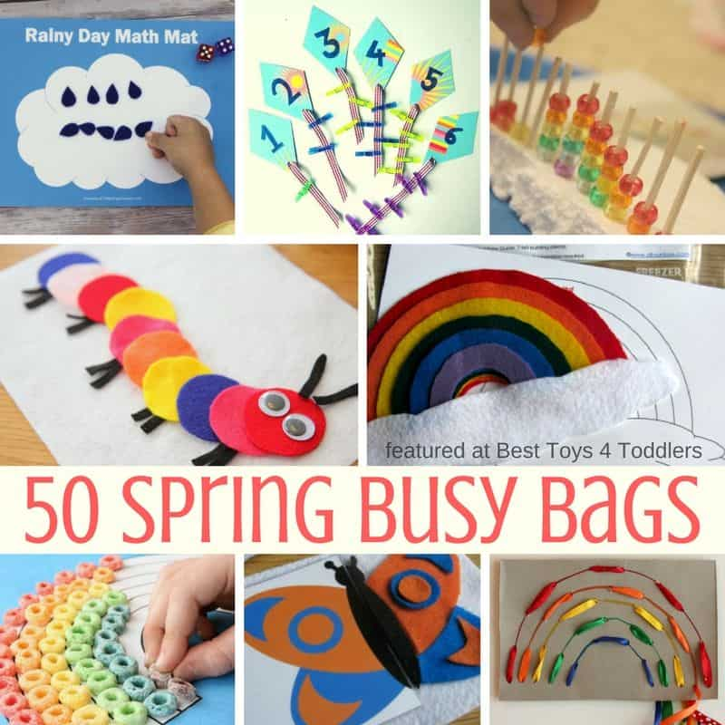 Best Toys 4 Toddlers - 50 quiet time activities for toddlers and preschoolers to try this spring