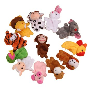 Top 10 Pretend Play Toys For 2 Year Olds: Animal Puppets Plush Finger Toys