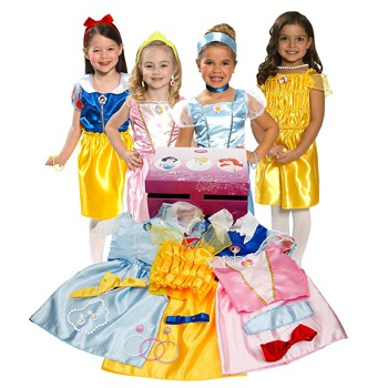 Top 10 Pretend Play Toys For 2 Year Olds: Disney Princess Dress Up Trunk