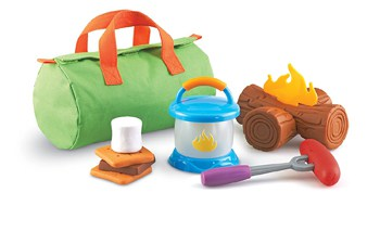 Best Toys For 4 Year Olds: Pretend Camping Set
