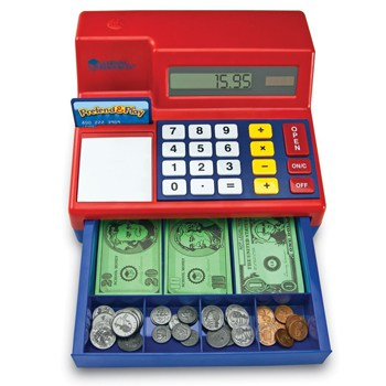 Top 10 Pretend Play Toys For 3 Year Olds: Learning Resources Pretend & Calculator Cash Register