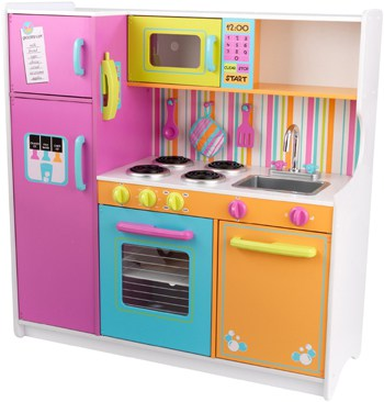 Best Toys For 4 Year Olds: Wooden Kitchen Set