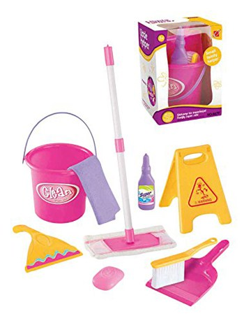 Best Toys For 4 Year Olds: Pretend Cleaning Set