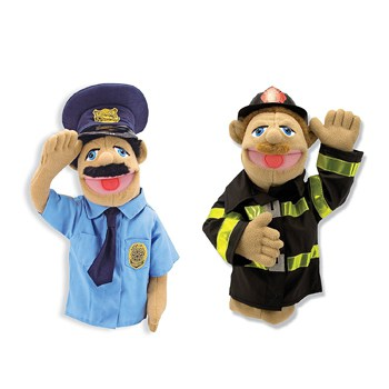 Best Toys For 4 Year Olds: Rescue Puppet Set