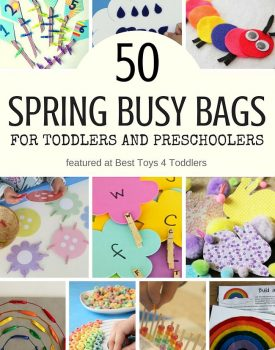 50 Spring Busy Bags For Toddlers and Preschoolers