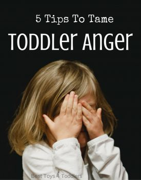 5 Tips To Tame Toddler Anger