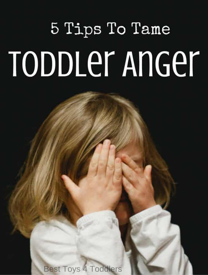 Tame anger in toddlers