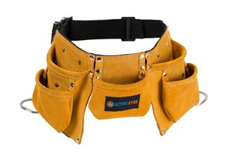 Best Toys For 4 Year Olds: Child's Size Leather Tool Belt
