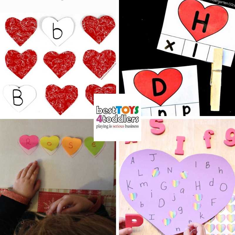 Valentines day alphabet activities